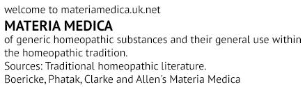 Materia Medica Logo